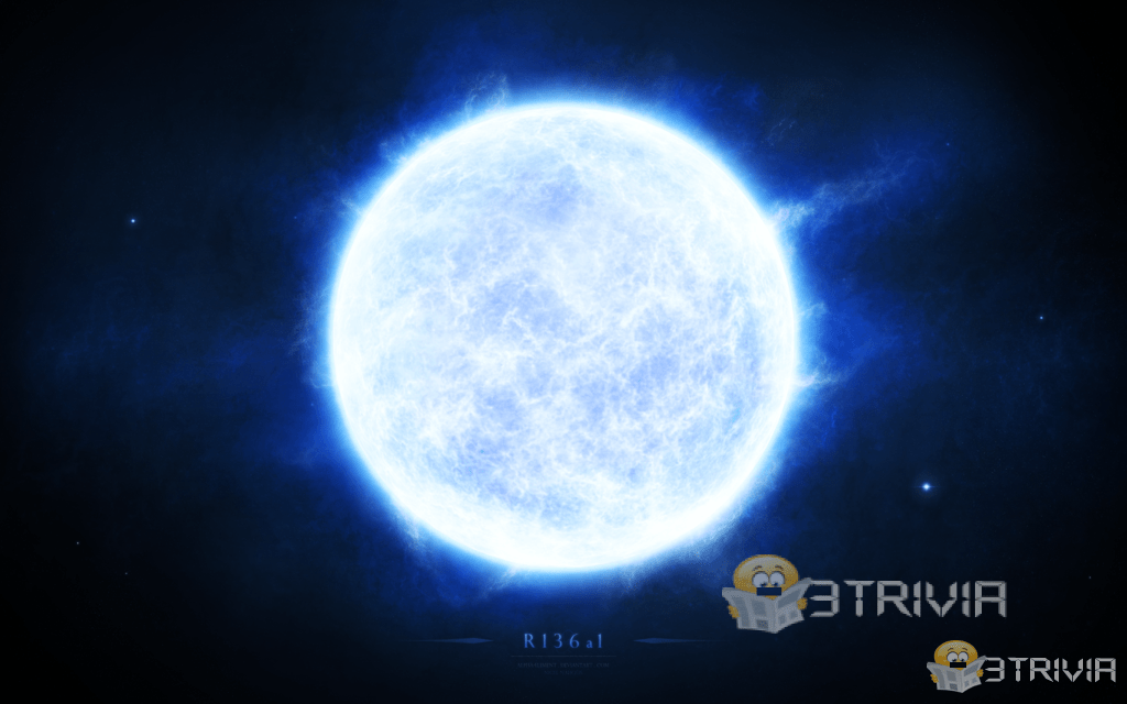 The brightest star in the sky - the star of R136a1
