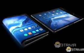 Samsung foldable phone screen can be bent 360°