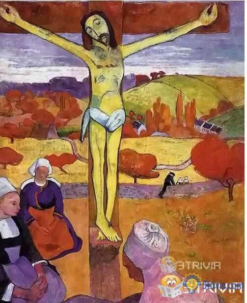 Character Trivia:To which artistic movement does Paul Gauguin's The Yellow Christ belong?