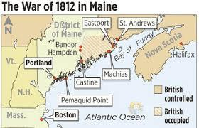 THE WAR OF 1812 LED TO A PERMANENT SPLIT BETWEEN MAINE AND MASSACHUSETTS.