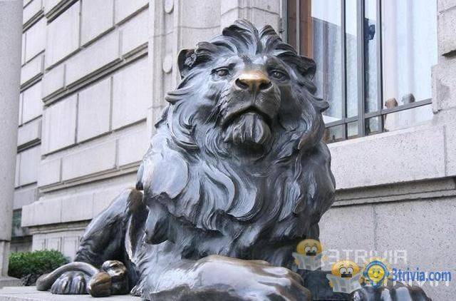 Trivia Hong Kong:HSBC lion almost made ammunition