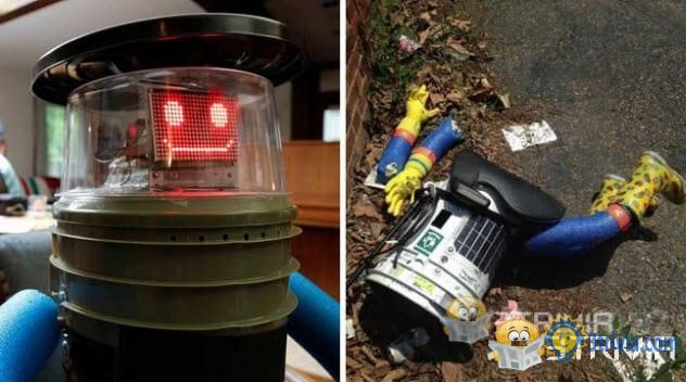 Hitchhiking Robot Found Dismembered