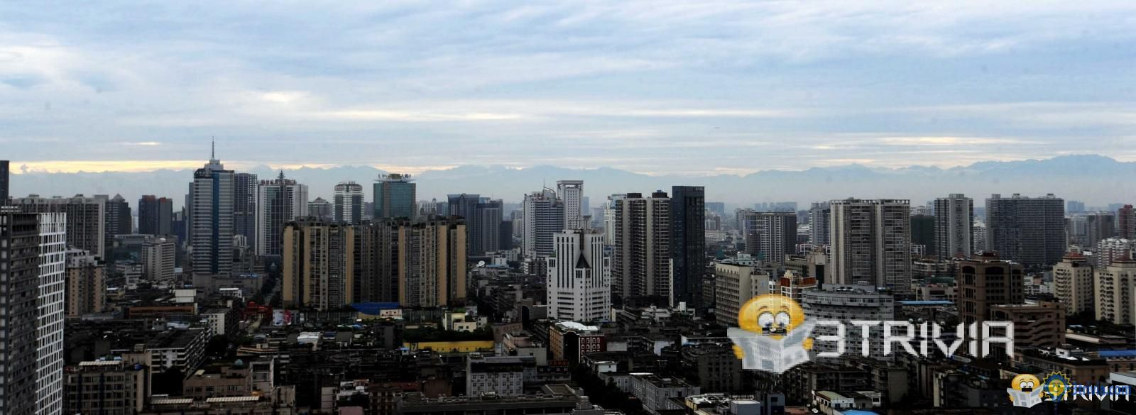 Chengdu is the largest city with the largest altitude difference in the world.
