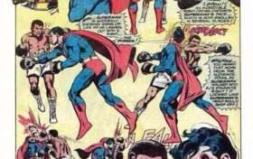 DC Trivia:Superman and Boxing fight lost