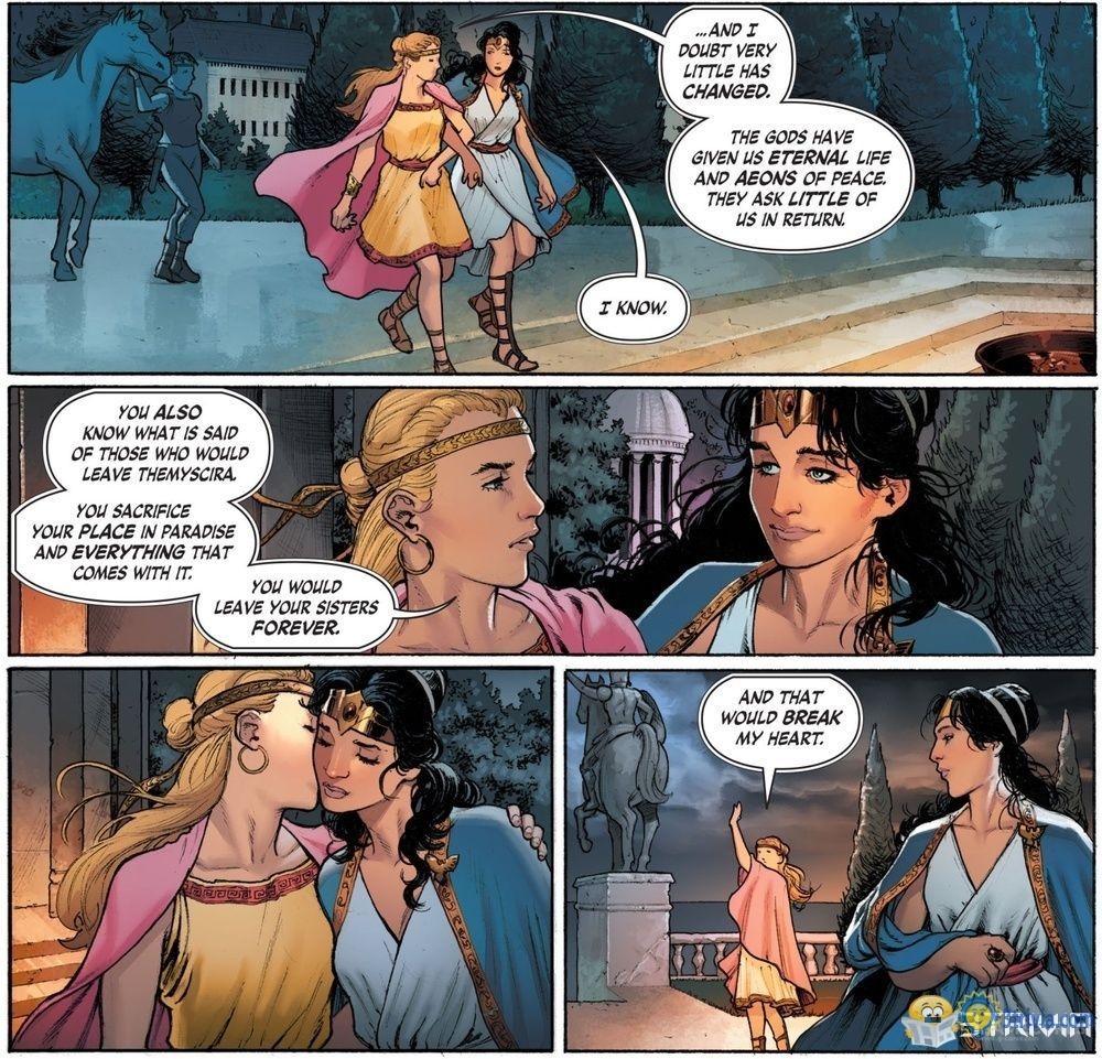 DC Trivia:Wonder Woman is bisexual?