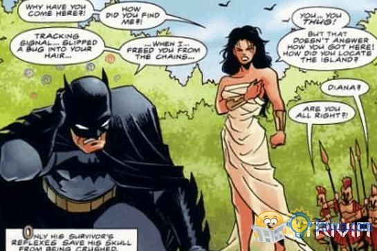 DC Trivia:For a long time, Wonder Woman is the official match of Batman.