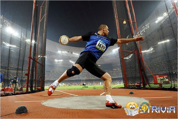 Discus Trivia:Discus throwers are more likely to break records near the equator