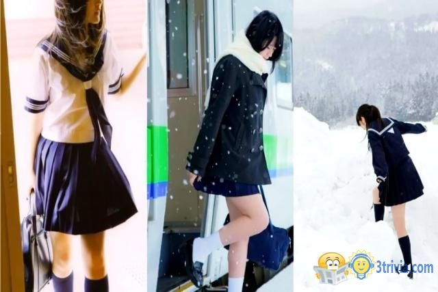 Japan Trivia:Why are Japanese girls wearing short skirts in the winter, not afraid of cold?