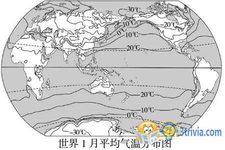 Temperature Trivia:China is the coldest country in the world at the same latitude.