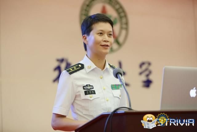 Captain Trivia:The first female trainee captain of the Chinese Navy