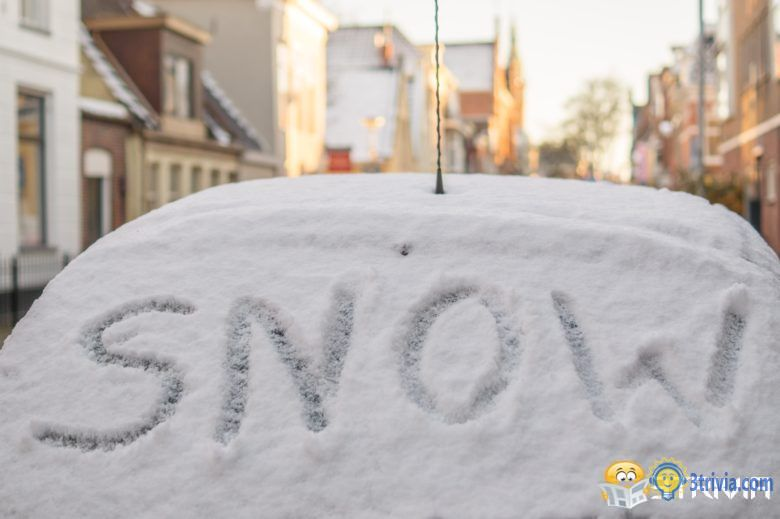 Snow Trivia:Snowing will actually violate the law