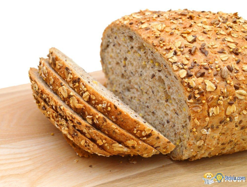 Junk food trivia:Multigrain and wheat bread