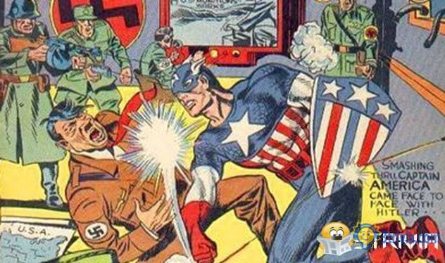 Superhero trivia:Have Been Used As War Icons