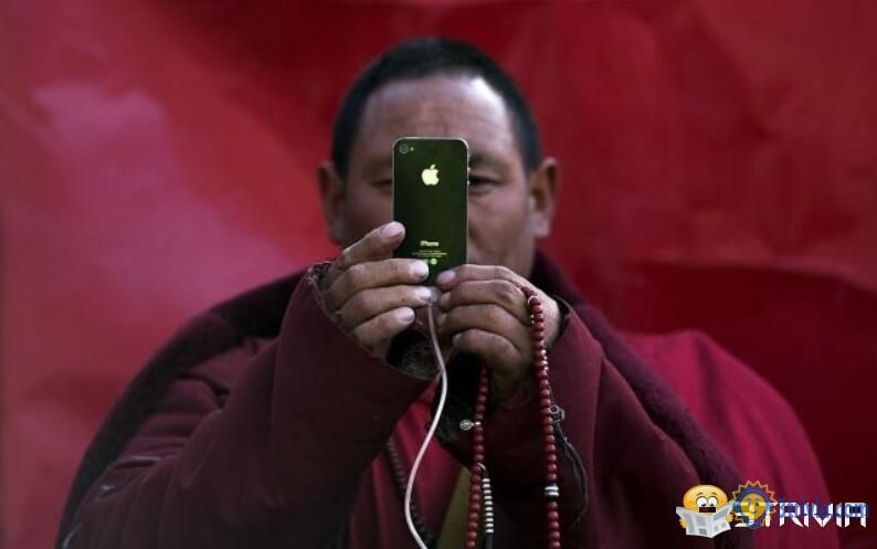 iPhone trivia:iPhone users have the highest proportion of Tibet