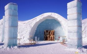Igloo trivia:Most Eskimos have never seen an igloo