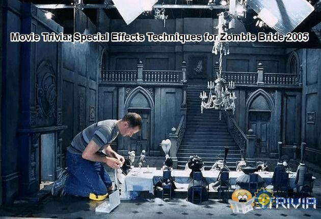 Movie Trivia: Special Effects Techniques for Zombie Bride 2005