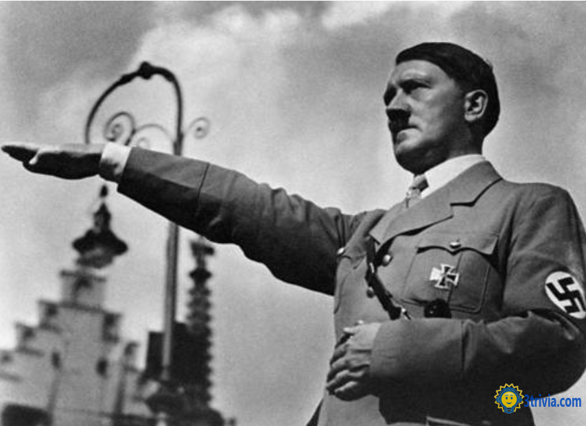 Hitler trivia: he only has one testicle