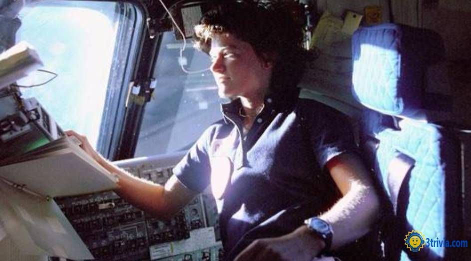 SALLY RIDE trivia: HAD A STRONG TIE TO THE CHALLENGER.