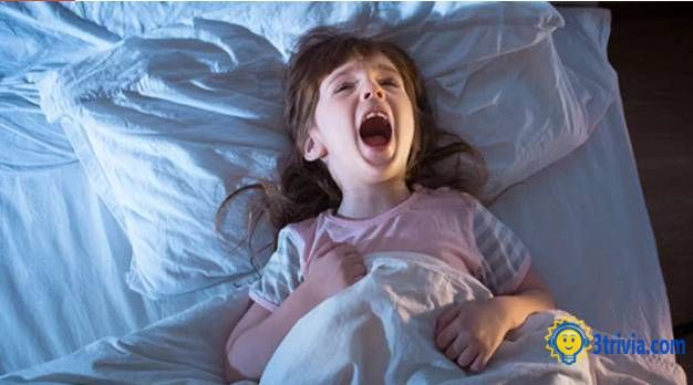 Weird trivia for children: They Have Night Terrors