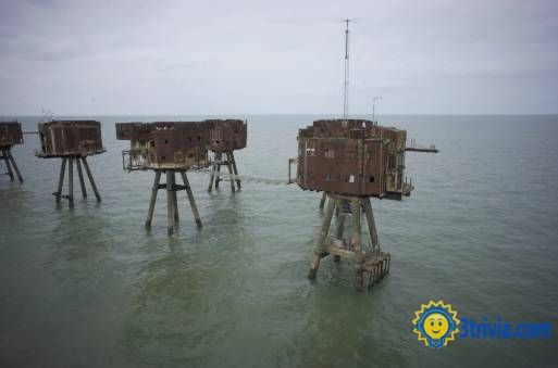 Horror building trivia: Maunsell Forts-The Ghostly Specters of World War Two