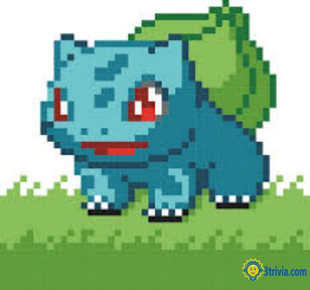Game trivia: Pokemon Red, Blue, and Green of the world's most popular games