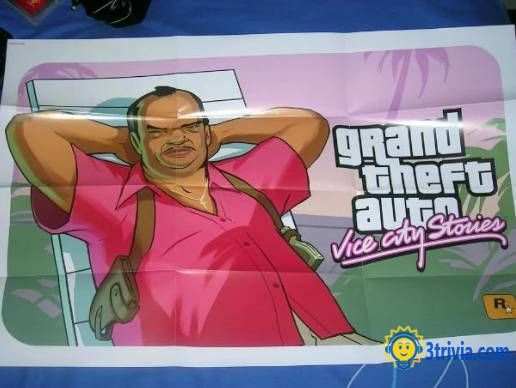 Game trivia: Grand Theft Auto: Vice City, the world's most popular game