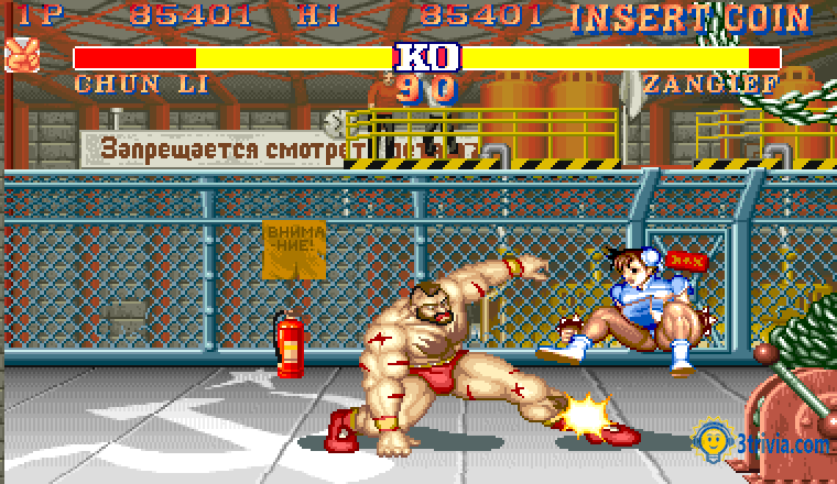 Game trivia: Street Fighter II: The World Warrior, the most popular game in the world