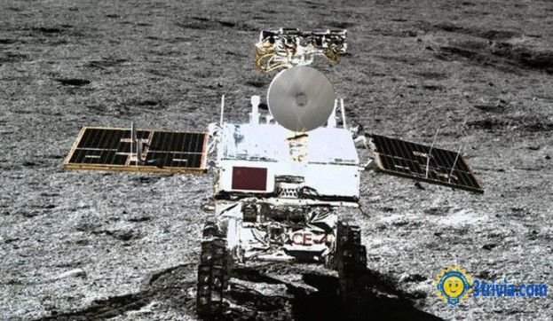 Historical trivia: China's rover pictures from the dark side of the moon in 2010