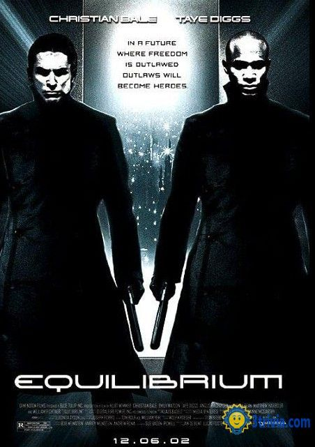 "Movie trivia: The most popular movie ""Equilibrium (2002)"""