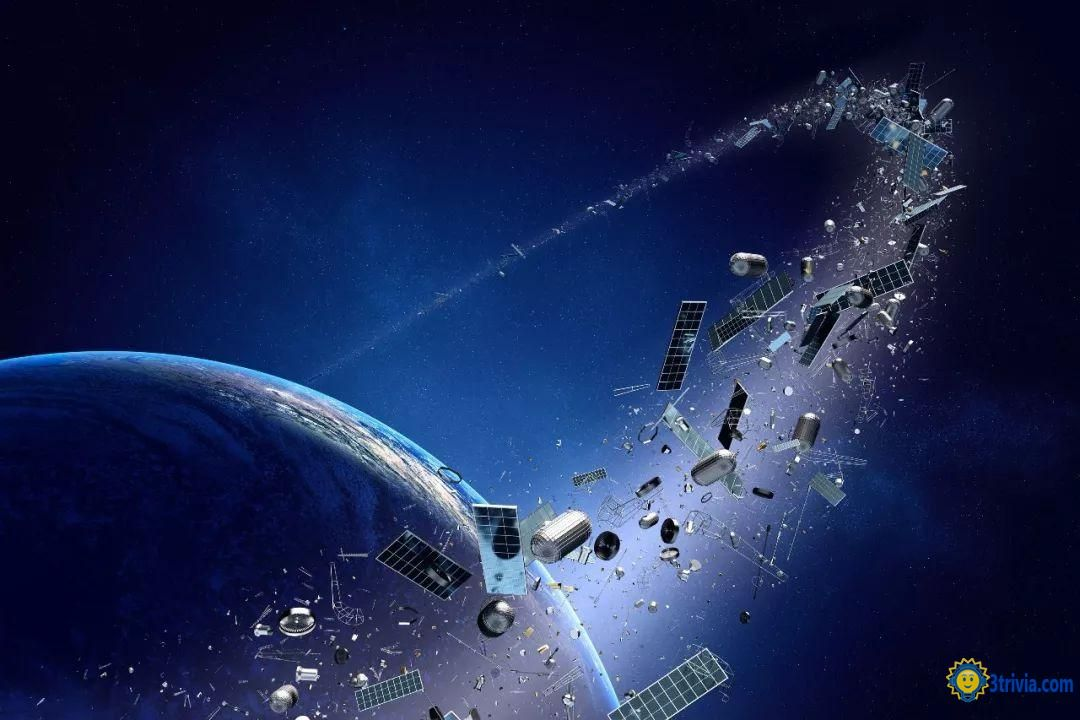Space Trivia: How much is the amount of space junk?