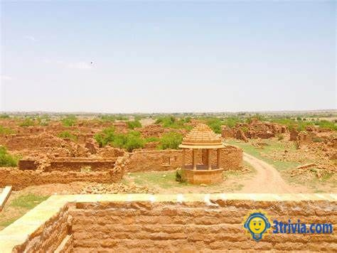 Location trivia: Kuldhara, India, a scary place