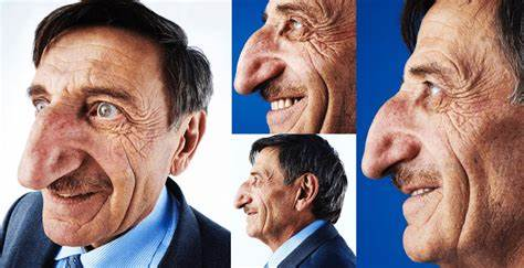 Nose trivia: The longest nose in the world is 14cm