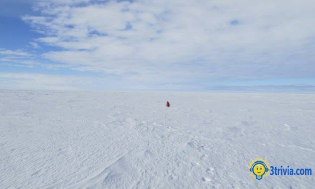 Cold Trivia: Mystery Of The Ross Ice Shelf, an interesting discovery in a cold place