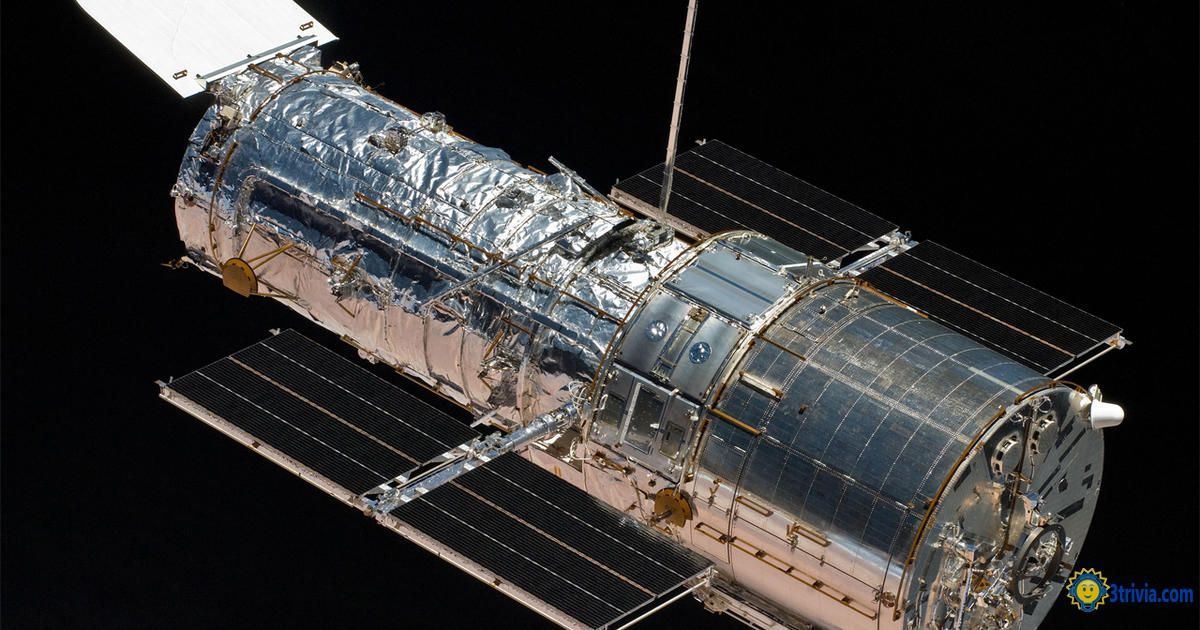Space Trivia: Hubble Space Telescope of Dangerous Objects Flying Around the Earth