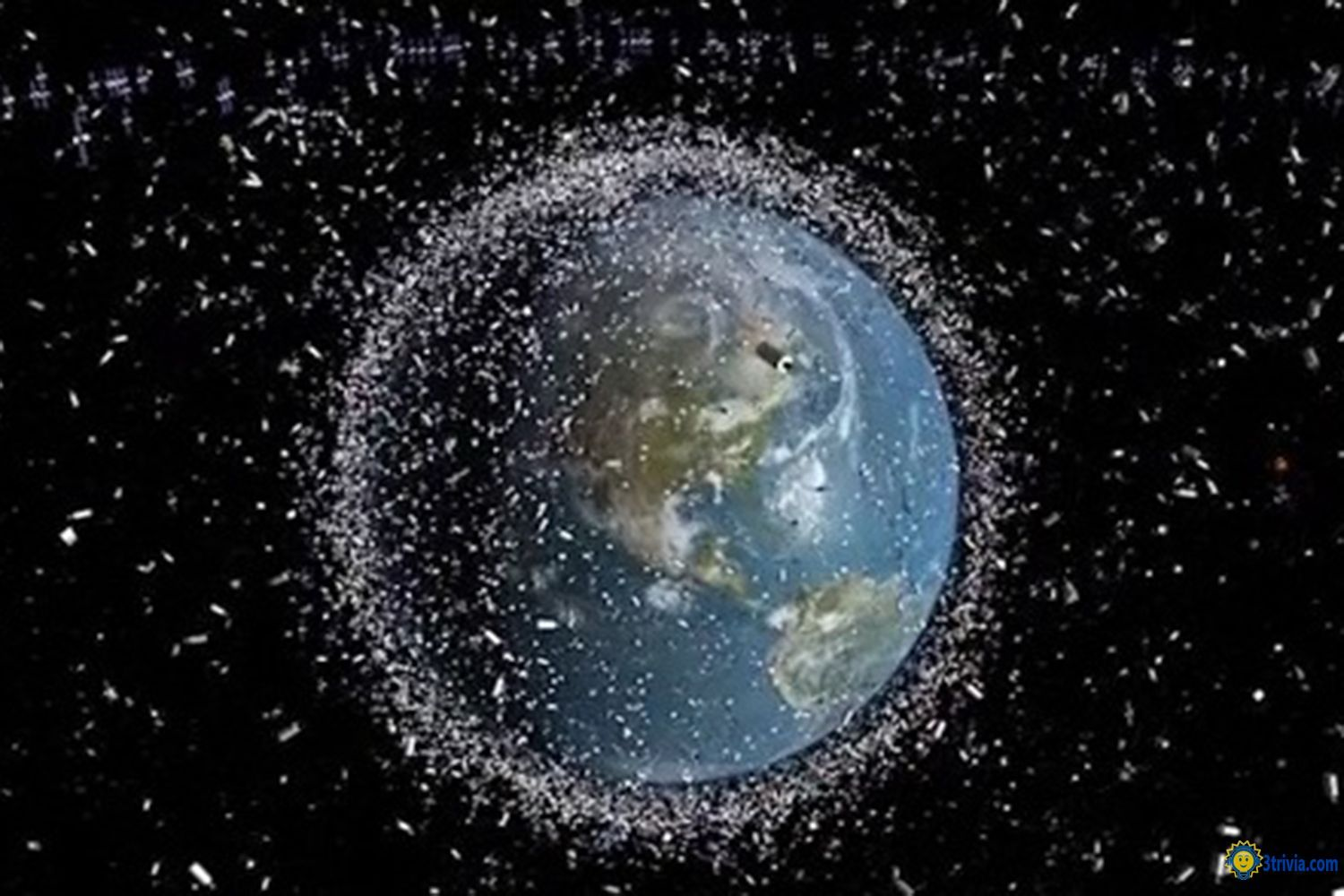 Satellite Debris of Dangerous Objects Flying Around the Earth 3trivia